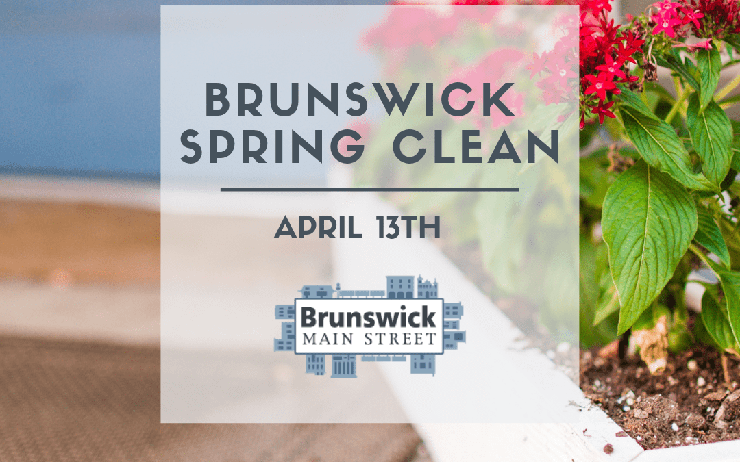 Small City Saturday   Brunswick Spring Clean
