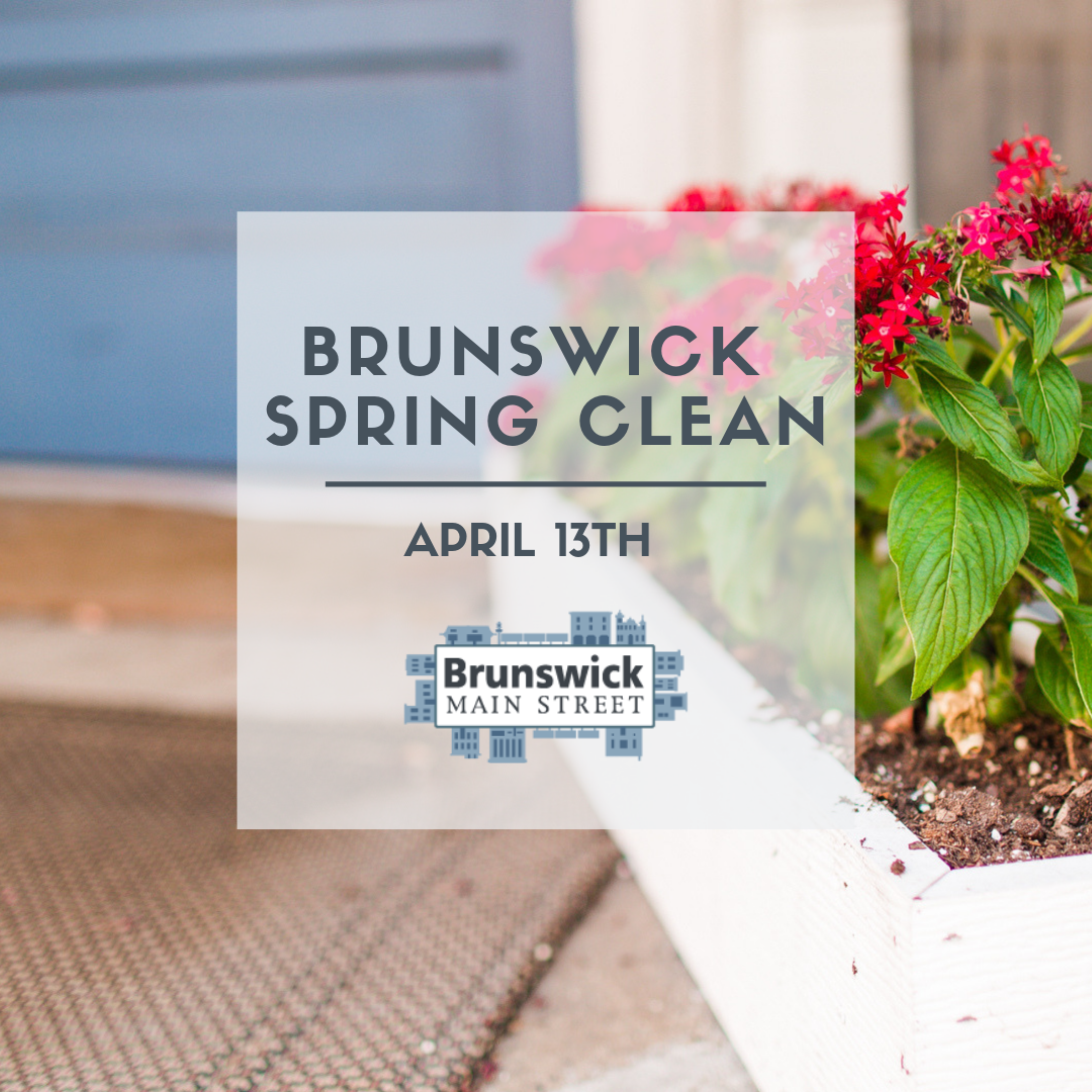 Small City Saturday | Brunswick Spring Clean