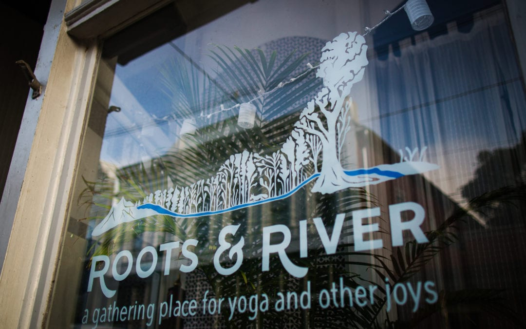 Dealing with COVID-19 in Downtown Brunswick: Roots and River Yoga