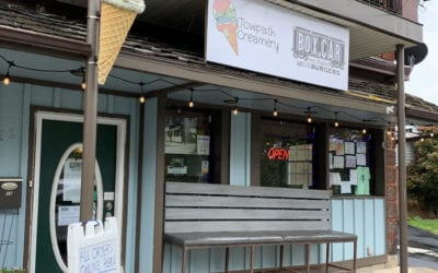 Dealing with COVID-19 in Downtown Brunswick: Towpath Creamery