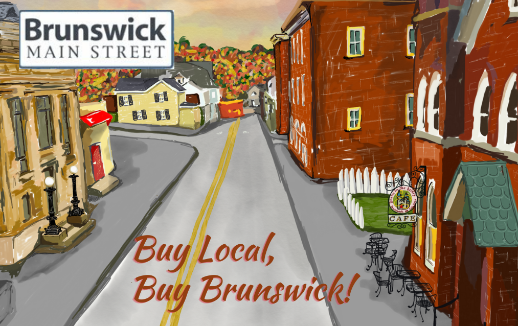"""Buy Local, Buy Brunswick!"" Gift Cards Now Available"