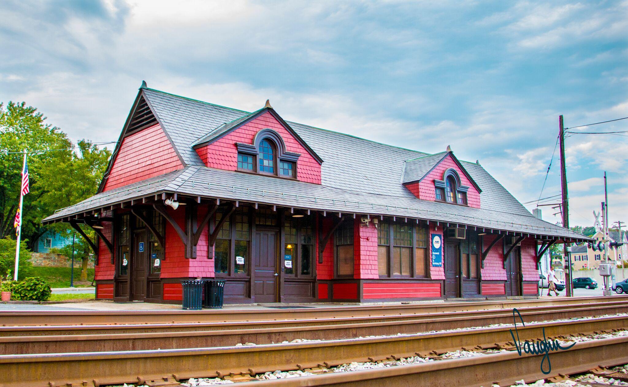 Ephraim Francis Baldwin Train Station